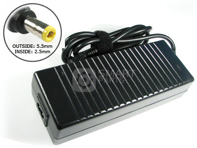 AD2 - AC Power Adapter for Advent Laptops (6.3a, 5.5 x 2.5mm, 19v, 120w)