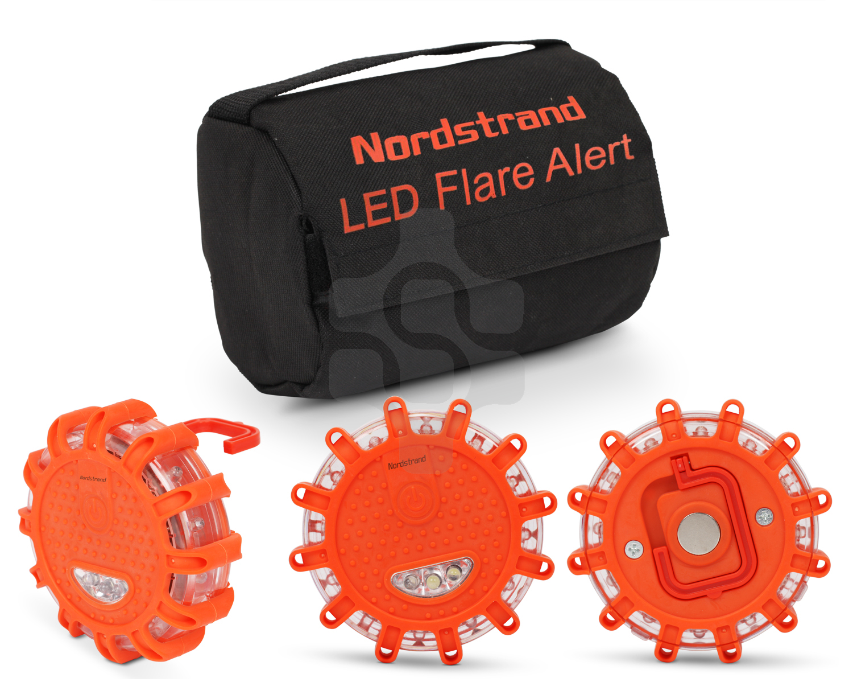 Nordstrand-Camino-Llamarada-Emergencia-LED-Luz-Parpadeante-Senal-de-Advertencia
